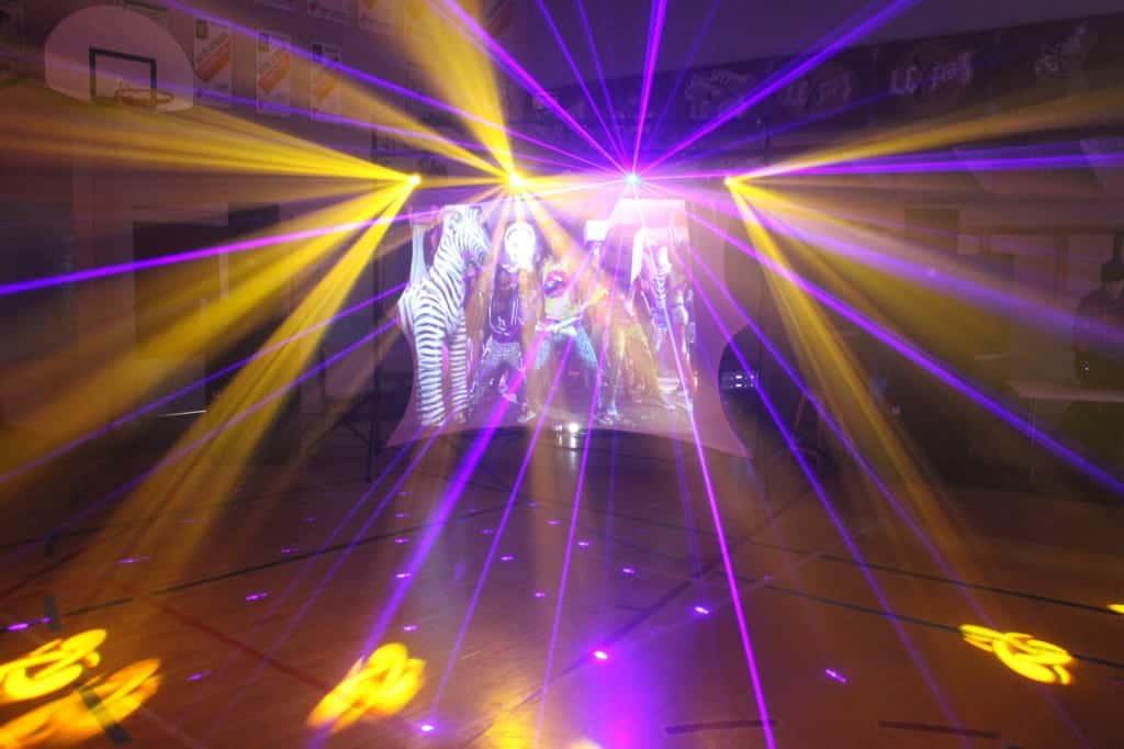 Éclairage Laser